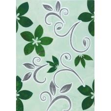 Декор Римини-1 зеленый