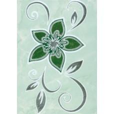 Декор Римини-2 зеленый